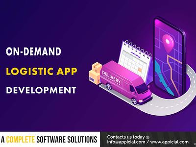 ON DEMAND LOGISTIC APP DEVELOPMENT logistic app ondemandapp ondemandlogisticapp