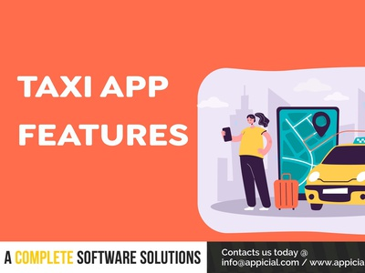 Taxi App Features taxi app development features