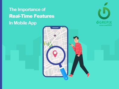 The Importance of Real-Time Features in Mobile App software development app development ecommerce development realtime feature mobile app development