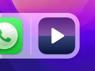 Daily UI Challenge #005 - MacOS App Icon app design app challenge dailyui 005 branding icon design icon big sur logo ux ui design