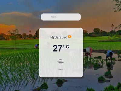 Weather App React procreate art weather reactjs react procreate prahlad inala branding prahlad logo minimal illustration icon app ui design ux