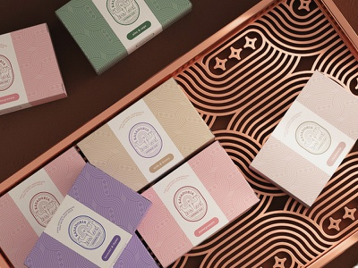 Packaging design for soap typography 3d modern logotype brand identity minimal logo design illustration branding