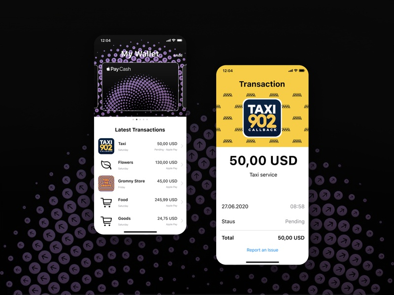 iOS Wallet - Redesign uxdesign ux ui design ios app app native app iphone redesign wallet ios