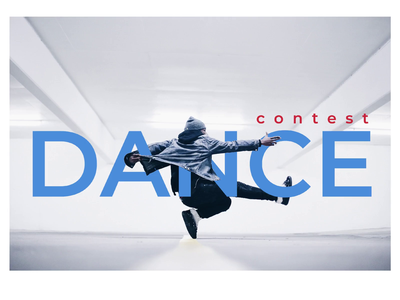 Dance Contest - Animated Landing Page principle animation animation dance contest interactive design web animation webdesign