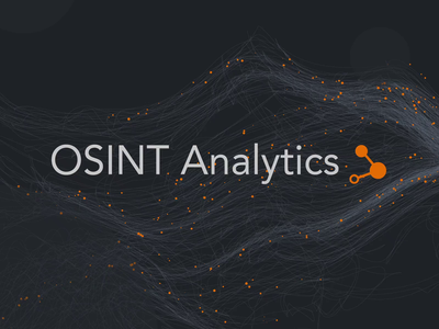 Logo Animation - Osint Analytics after effects aftereffects caddiesoft norge norway logotype osint branding logo animation animation logo