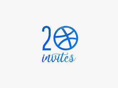 20 Invites giveaway invite