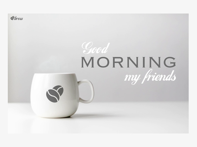 Brew - Coffee Animation kaffe norge norway home page animation landing page animation coffee coffee animation aftereffects after effects web design web animation webdesign