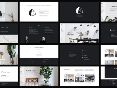 Interior design agency Figma template + UI kit norge figma figma template web design caddiesoft webdesign template design animation interior design norway