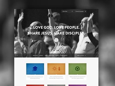 Church Header Option No.2 church header web website