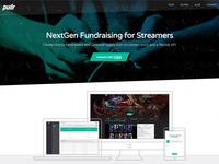 Pullr website design