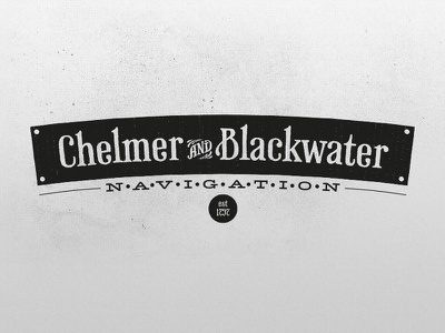 Chelmer And Blackwater canal retro vintage essex