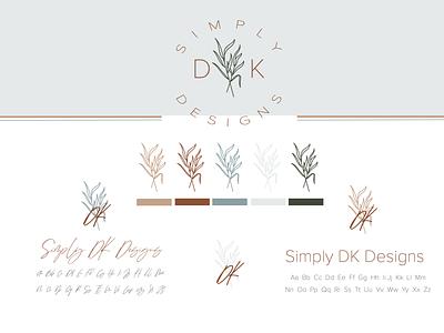 SDKD Branding brand typography icon design vector ai logo branding illustration