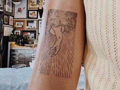 The Lord Speaks to Job bible design tattoo art tattoo design breakthrough lines bible illustration design tattoo job
