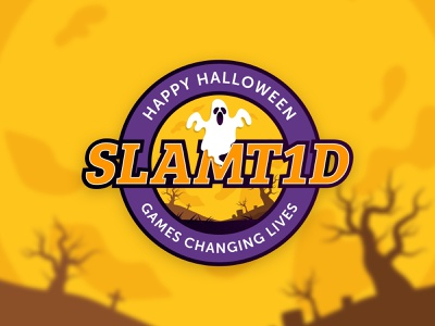 Halloween Badge Concept full moon concept adobe illustrator ghost halloween spooky badge branding illustration graphic design typography design