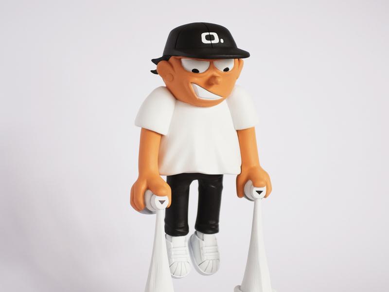 Graff Kid No. 1 art toy character design art sculpture artwork design