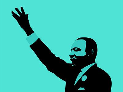Martin Luther King Jr. agency design madeinbrooklyn illustration marchonwashington mlk