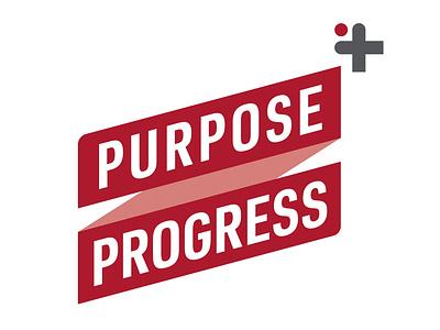 Purpose Progress Logo logodesign inspiration illustration design logo