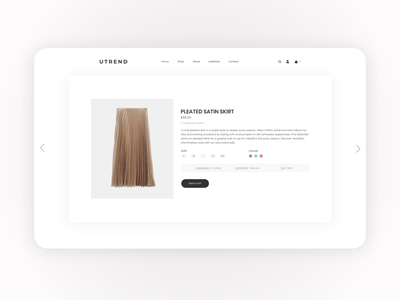 Fashion E-commerce Card UI figma products fashion design ecommerce product skirt site fashion concept website art interface uiuxdesign ux ui design dribbble