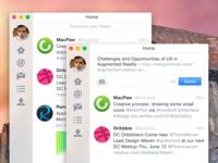 Twitter UI for OS X Yosemite