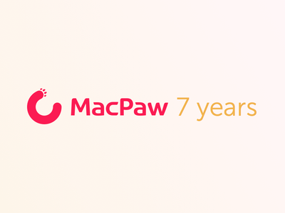 MacPaw turns 7! (Infographic inside) fun company macpaw illustration infographic
