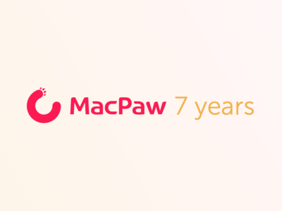 MacPaw turns 7! (Infographic inside)