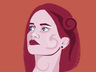 self portrait beautiful beautyvector girlvectorillustration vectorselfportrait vectorillustration selfportrait