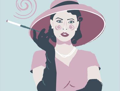 Mafiosi number 1 illustration art logo icon art be yourself illustrator app vector illustration mafiosi
