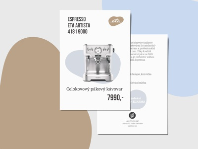 Espresso Machine price list for CAFE TONE branding graphicdesign typography typesetting design