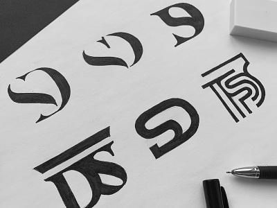 DS logo mark sign logodesigner logo ds s d