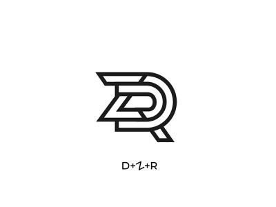 Logo for clothing brand d z r clothing