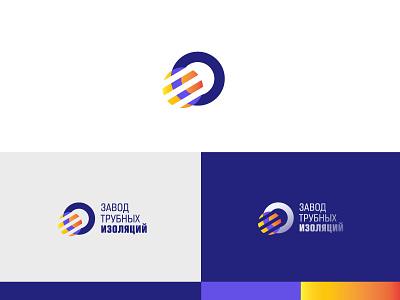 The logo for Pipe Insulation factory sign logomark factory logodesigner logo identity ico branding app