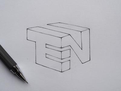 New logo conсept TEN ten branding logodesigner sign logomark identity logo