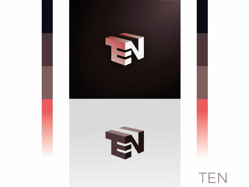 Logo Ten logodesigner branding identity logo