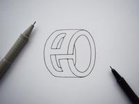 Logo concepts. E + pipe.