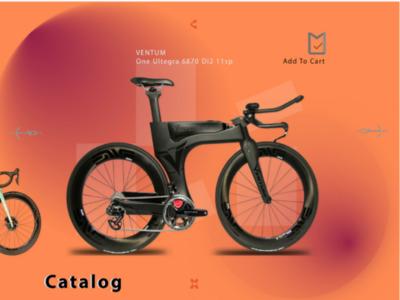 Bik's Biz | UI Design | Illustrator
