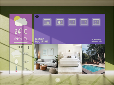 Smart Apps For Living Home | UI UX Concept  Page 1 illustration indonesia kixpandemix uidesign