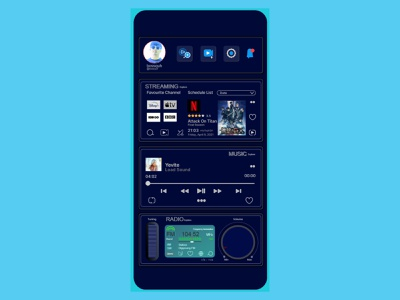 streaming go | Browser Apps music streaming radio browsers uidesign
