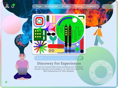 Community Platform Creative projects creative design webdesign illustration ui uidesign