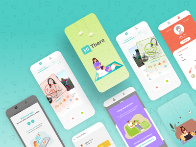 Hi There application safety friends child kids app children illustration app design app ux ui banding branding brandidentity design