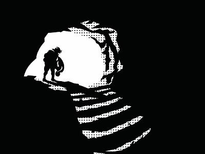 Descending into the den graphic novel comics comic illustration
