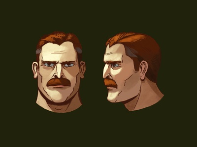 Marshall Hogan visual development concept art comic procreate comics graphic novel character design illustration