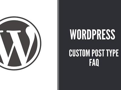How to add FAQ system in WordPress using Custom Post Type?