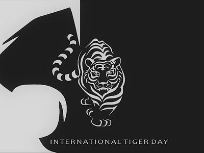 International Tiger Day 🐯 savetigers tigersday tigerday internationaltigerday