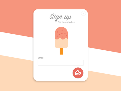 Sign up modal - Daily UI #001 dailyui001 001 dailyui
