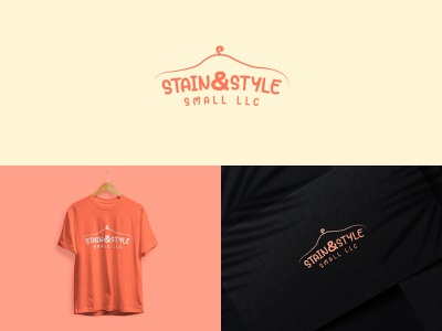 Cloth Shop Minimal LOGO - Stain & Style Small LLC raian arshad arittro logo trend logo 2021 minimal cloth logo cloth minimal logo logo cloth shop minimal cloth shop logo minimal logo cloth shop logo