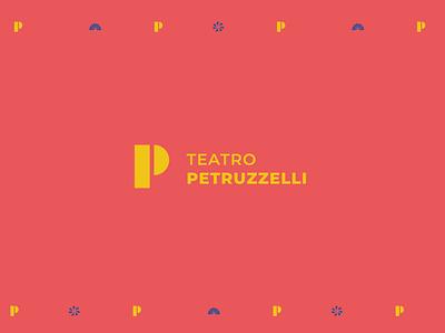 Teatro Petruzzelli minimal branding logo design