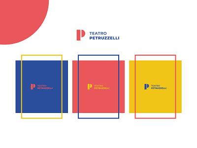 Color palette - Teatro Petruzzelli design minimal logo branding