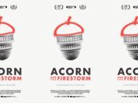 Acorn & The Firestorm Poster