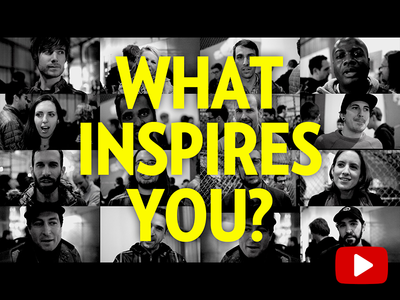 Inspire Cover youtube video inspiration interview