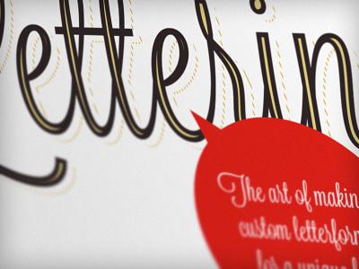 Lettering arti-directed blog lettering